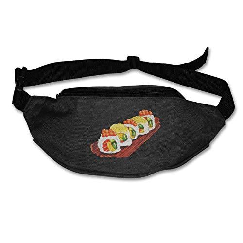 Waist Bag Fanny Pack Sushi Pouch Running Belt Travel Pocket Outdoor Sports