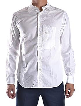 Yohji Yamamoto Camicia Uomo MCBI317004O Cotone Bianco