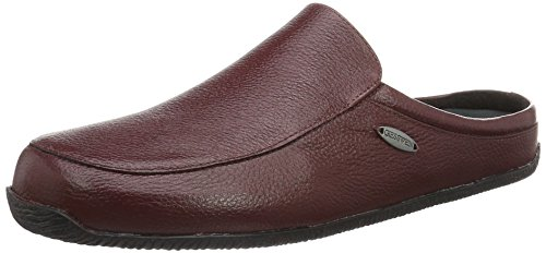 Giesswein Manta, Pantoufle homme Rouge - Rot (345 chianti)
