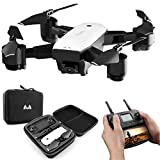 Hotbird Drone with Camera 1080p, 5G Wifi FPV GPS Auto Return Wide-Angle Camera, HD142 RC Quadcopter for Adults Beginners, Follow Me
