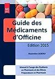 Guide des médicaments d'officine...