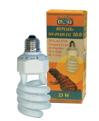 Namiba Terra 1632 Replux UV-Plus D3 Desert Light Bulb for Reptile Tank Ultra-Violet 23/30% UVA / 10% UVB with Integrated Ballast
