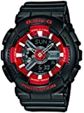 Casio Damen-Armbanduhr Analog - Digital Quarz Resin BA-110SN-1AER