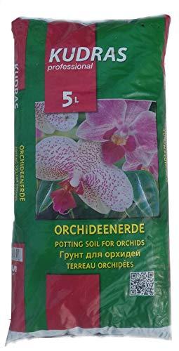 Samenshop24® Orchideenerde, Substrat in Gärtnerqualität, Inhalt: 5 Liter