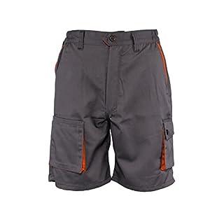 Desman® - Shorts/kurzen Arbeitshosen - für den Sommer - Grau EU48