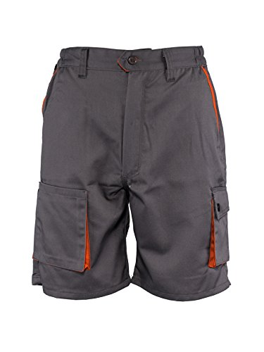 Stenso Desman® - Corti di Lavoro/Pantaloncini - per L'Estate - Uomo - Grigio EU46