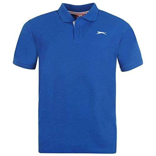 Slazenger Herren Polo Poloshirt 2014, S-4XL Royal