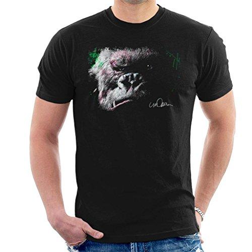 Sidney Maurer Original Portrait of King Kong Glare Men's T-Shirt