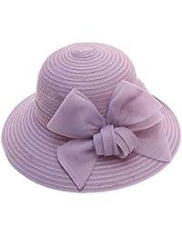 M-HAT Cappello da Pescatore da Donna Cappello da Paglia Cappello da  Pescatore Cappello Estivo c6a31660b5a3