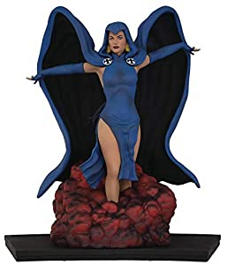 Icon Heroes- DC Heroes Teen Titans: Raven 1:9 Scale Figura New, Multicolor, 20,3 cm (AUG188622)