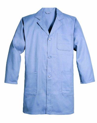 Preisvergleich Produktbild Berufsmantel kurzform 109-0-400-M Mantel, 100 % Baumwolle, Sanfor, Größe M, Farbe: grau