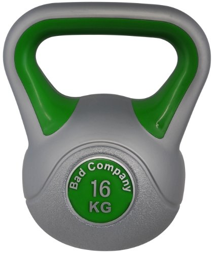 Color-Line Kettlebell Kugelhantel Hantel Gewicht Handgewicht 16Kg (Stück) inkl. deutschsprachiger bebilderter Trainingsanleitung
