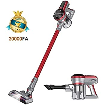 WOWGO Cordless Vacuum Cleaner 20KPa Handheld Stick Vacuum