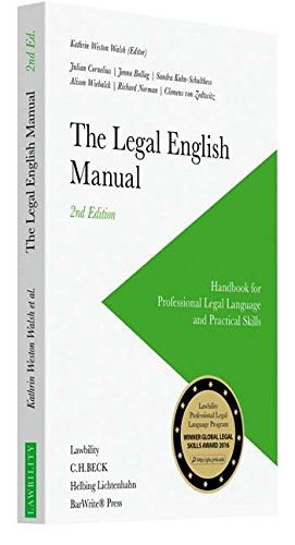 The Legal English Manual: Handbook for Professional Legal Language and Practical Skills