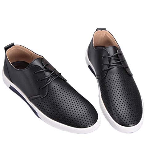 Jessie Kelly Herren Business Schuh aushöhlen atmungsaktiv lässig Oxford Schuhe