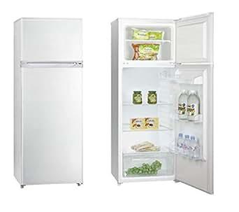 Curtiss QDP 225 GPL Autonome 215L A+ Blanc réfrigérateur-congélateur - réfrigérateurs-congélateurs (Autonome, Blanc, Droite, Rotatif, Acier inoxydable, Verre)
