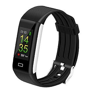 Nasharia Fitness Armband,Bluetooth Smart Sportuhr Wasserdichter Farbdisplay IP67 überwacht permanent Herzfrequenz, Schlaf, 14 Trainingsmodi, Benachrichtigungen usw.(Unterstützt Android und iOS)