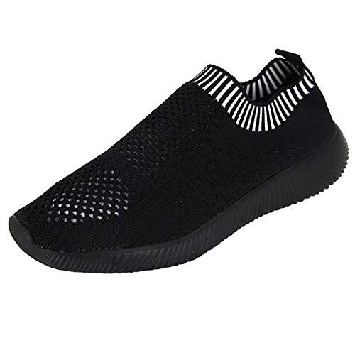 Quaan Frauen fliegen Weben Socken Schuhe Turnschuhe Freizeitschuhe Student Laufschuhe