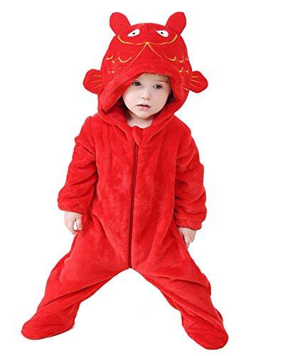 Halloween Kostüm Fisch Baby - Tonwhar Baby Jungen (0-24 Monate) Bekleidungsset fisch 80(Height:26