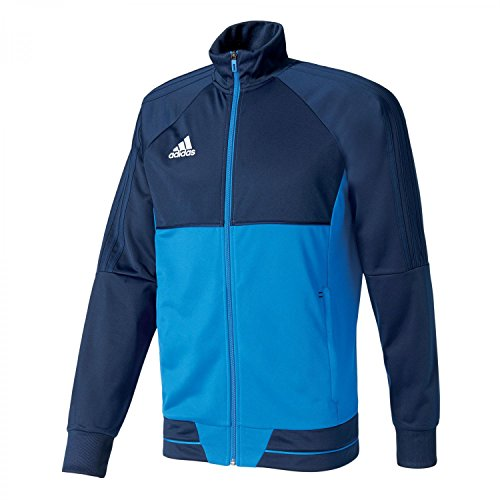 adidas Kinder Tiro 17 Pes Trainingsjacke, Collegiate Navy/Blue/White, 140