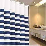 GOG Tenda da bagno per bagno, tenda per pareti divisoria Tenda per doccia spessa impermeabile e antimuffa,240x200cm