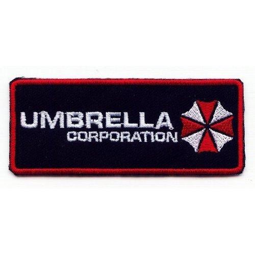 R.M.A Shops - Patch, motivo: Resident Evil Umbrella Corporation, 8,5x 3,5 cm, termoadesiva