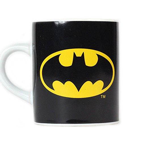 Batman Logo Mini Kaffeebecher - Batman Logo Mini Kaffeetasse Becher Fledermaus Tasse (Logo-mini-fledermaus)
