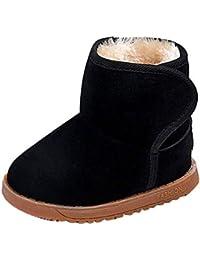 fuxinhe Bambini Inverno Stivali da Neve Resistenti più Velluto Spesso Scarpe  Calde Scarpe di Cotone Ragazzi 53114117288