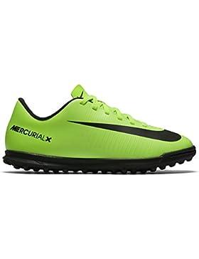 NIKE Jr Mercurialx Vortex III TF, Botas de fútbol Unisex niños