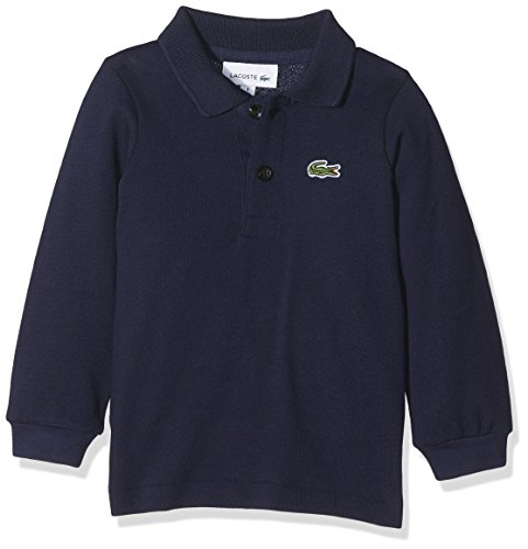 Lacoste Baby-Jungen Pj8915 Poloshirt, Blau (Marine), 1 Jahre (Herstellergröße: 1A) -
