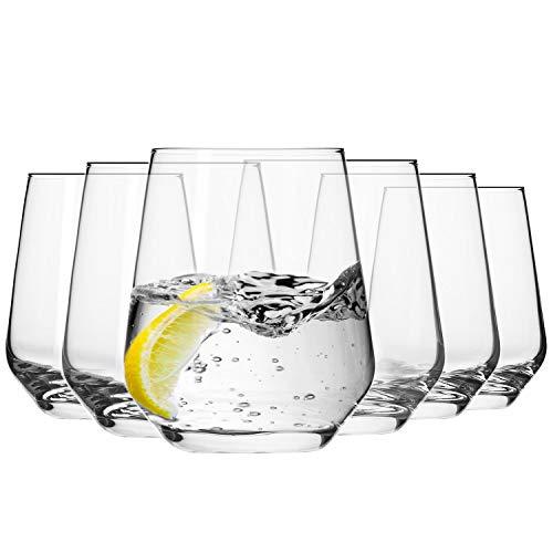 Krosno Wassergläser Saftgläser Whiskygläser Trinkgläser| Set von