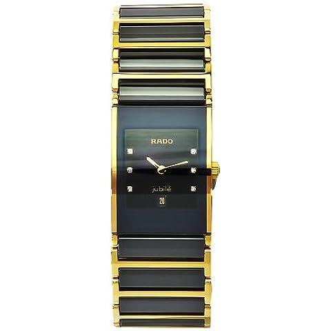 Rado R20788752negro integral de las mujeres Dial cerámica caso reloj por Rado