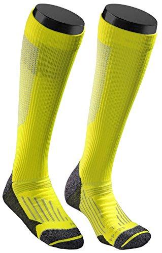 SOXEGO Kompressionssocken/Kompressionssocken / Kompressionsstrümpfe für Laufen, Flugreisen, Radfahren und Fitness - Yellow - Gr. 39-41