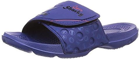 Capt'n Sharky 170103, Jungen Dusch- & Badeschuhe, Blau (blau), 32 EU