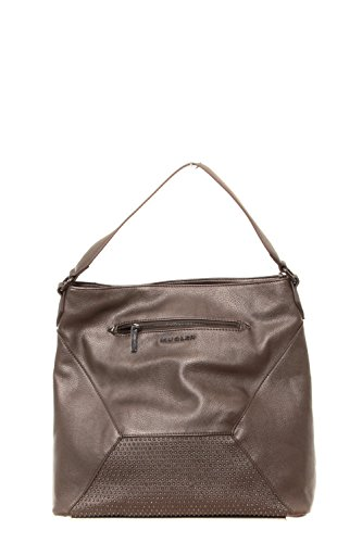 Sac Bandoulière Thierry Mugler Follie 1 Taupe