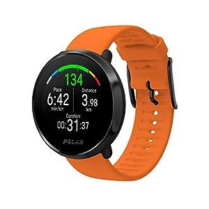 Polar Unisex Ignite Multisport Watch, Orange, Medium/Large