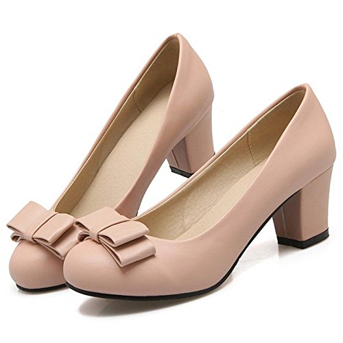 44 Donne Colore Rosa Taoffen Scarpe Eleganti Di slip x0q5znwT6