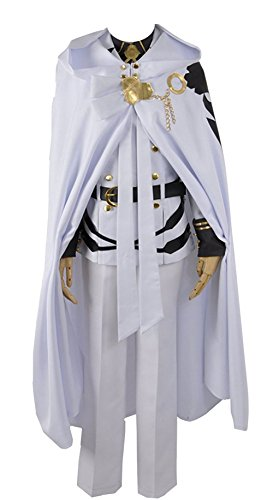 Seraph der Ende Mikaela Hyakuya Militär Uniform Cosplay Kostüm, Collegejacke, - Mikaela Hyakuya Kostüm