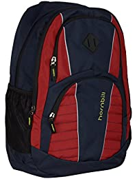 Hornbill Polyester 30 Liters Blue And Red School Backpacks
