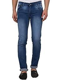 JUGEND Black Stretchable Slim Fit Jeans for Men