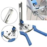 #8: Generic C20 Ring Stainless Steel BlueEe Jambro Stlye Pliers Fencing Fence Ringer 3-8mm