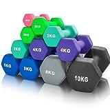 arteesol Kurzhanteln Hanteln 1kg/2kg/3kg/4kg/5kg/8kg/10kg Hantelpaare Leicht Schwer für Männer Frauen Gewichte...