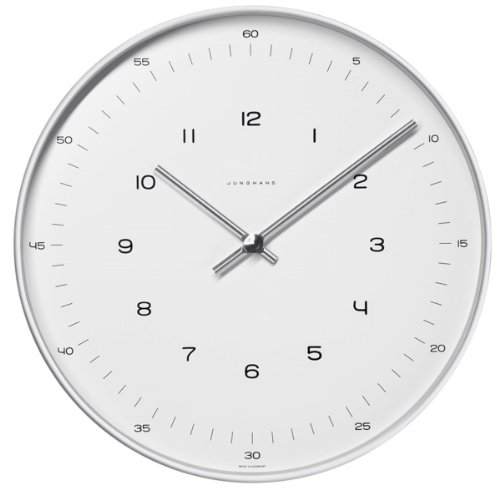 max-bill-clock30cm-diam-stainless-steel-case-quartz-movement-mineral-glass-face-with-numbers