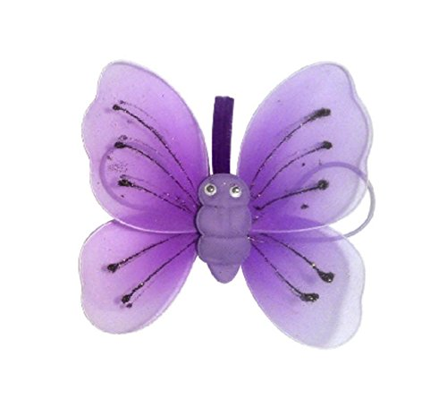pink sparkle butterfly wings glitter detail fancy dress princess fairy girls