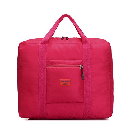 Wasserdichte faltbare Taschen Bulk bewegen Gepäcktasche Red