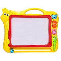 Black Temptation Magnetic Drawing Board,Writing Board,Doodle Board for kids for learning,Yellow,cow