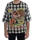 Dolce & Gabbana - Herren Shirt - Seide - Crewneck PRODOTTO Siciliano Print Silk T-Shirt Größe IT52 | XL