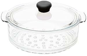 Cook Way - Cuit vapeur 24 cm en verre amovible