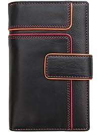 Prime Hide Women s Leather Wallet Purse RFID Blocking Rear Zipped Change  Section e79ee9efc5a7f
