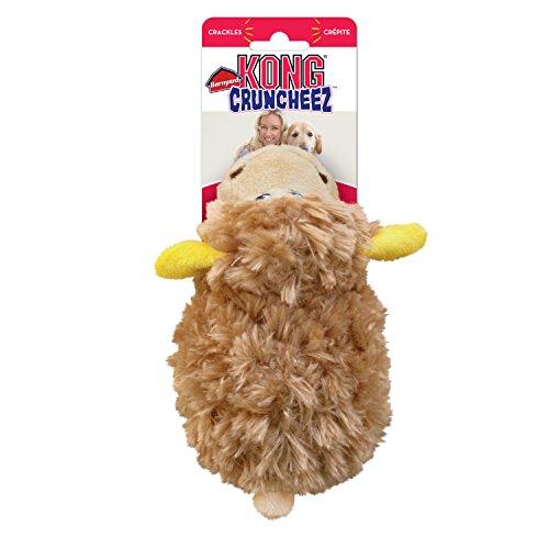 "Kong Barnyard Cruncheez Hundespielzeug ""Schaf"", groß (Schwein Hundespielzeug Kong)"